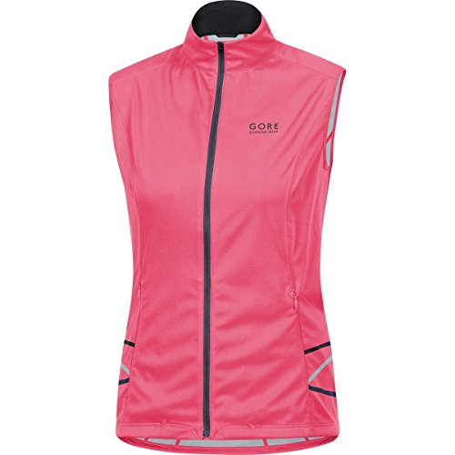 GORE WEAR Damen Weste Mythos 2 Windstopper Soft Shell Light Vest, Rosa, 36