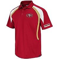 Majestic Athletic NFL Polo Shirt San Francisco 49ers Football Poloshirt Field Classic VI
