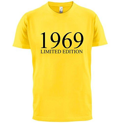 1969 Limierte Auflage / Limited Edition - 48. Geburtstag - Herren T-Shirt - 13 Farben Gelb