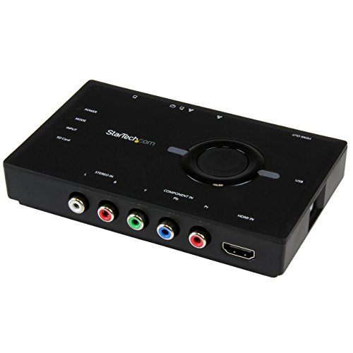 STARTECH.COM Scheda acquisizione Video con Streaming -Video Grabber HDMI o Component, 1080p, USB 2.0