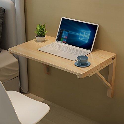 DX Dongy Wandbehang Computertisch Esstisch Wandklapptisch Massivholz Doppelunterstützung