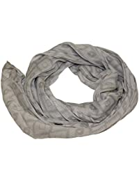 Seidenschal Seide Halstuch Schal Ornamente Raute Seide Cotton