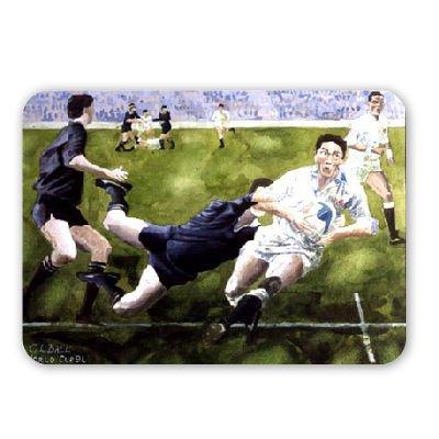 Unbekannt Rugby Match: England v New Zealand in The. - Mousepad - Natürliche Gummimatten Bester Qualität - Mouse Mat England-match