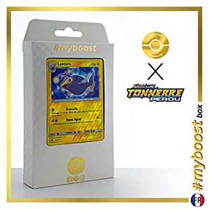 Lanturn 74/214 Holo Reverse - #myboost X Soleil & Lune 8 Tonnerre Perdu - Box de 10 Cartas Pokémon Francés