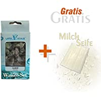 Preisvergleich für Lapis Vitalis Wassersteine Fluorit und Gratis Milchseife 25 g