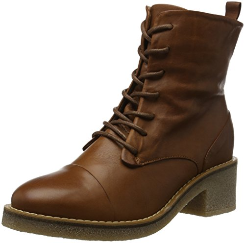 ALDO Women's Pietralta Combat Boots, Brown (Cognac/28), 5.5 UK