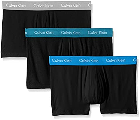 Calvin Klein Underwear 0000U2664G, Boxer Homme, Lot de 3, Multicolore