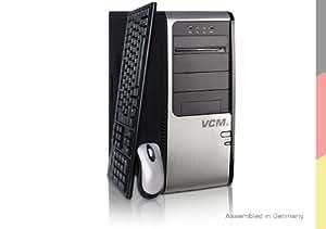 VCM Pontos 2 Desktop-PC (Intel Core 2 Quad Q9505 2.8GHz, 4GB RAM, 1000GB HDD, nVidia GTS250 1024MB, DVD, Win 7 HP)