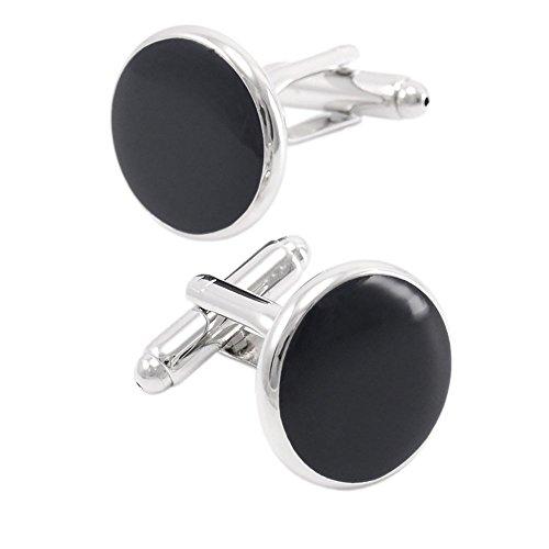 fariyfeel-jewelry-herren-s-classic-manschettenknopfe-fur-hochzeit-business-schwarz-einheitsgrosse