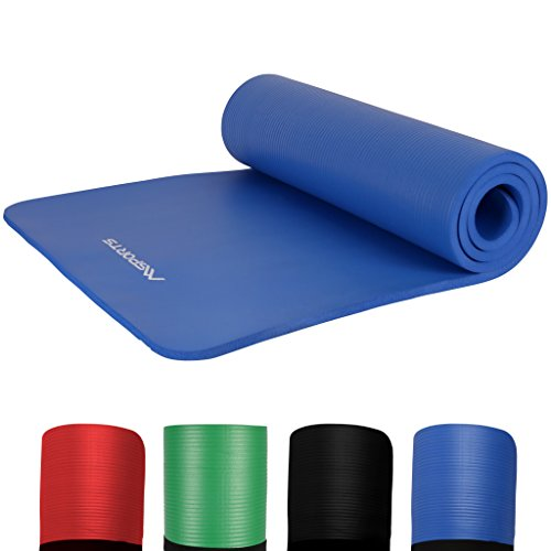 #Gymnastikmatte Premium | Fitnessmatte – 190 x 60 x 1,5 cm | Königsblau | Pilatesmatte – sehr weich – extra dick – Yogamatte#
