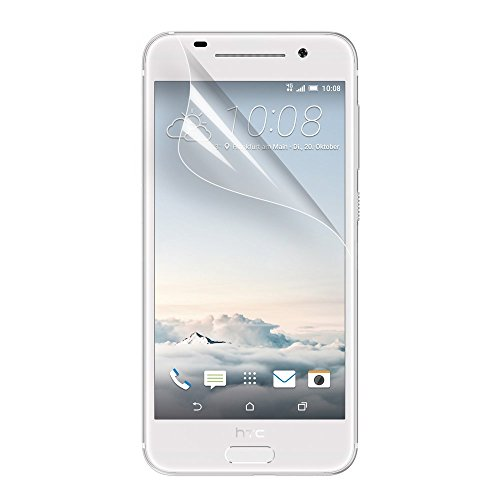 HTC One A9 Schutzfolie Klar LCD Bildschirm Screen Guard Protector Clear Film Tuch