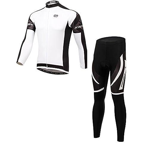Secret Paradise Men's Sport Outdoor da ciclista per bici adatto per Clothing-Pantaloni in Jersey