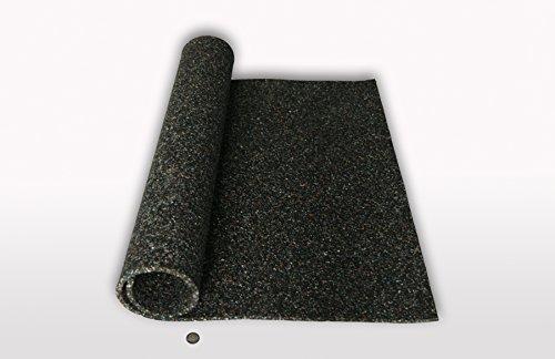 Gummimatte Anti-Vibrationsmatte Antirutschmatte 100 x 125 x 1,5 cm (Marke: Szagato) (Bautenschutzmatte Gummigranulatmatte Kofferraummatte)