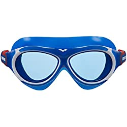 arena 1e034 Lunettes de piscine-Mixte Enfant-Bleu (Blue-Blue)-taille unique