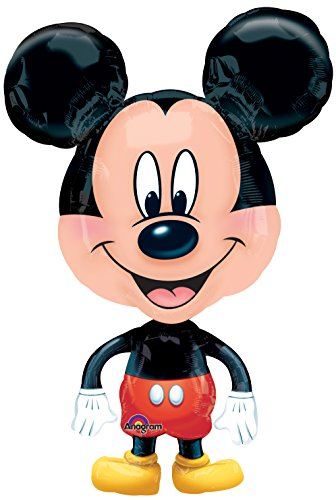amscan Folienballon Airwalker Mickey Mouse