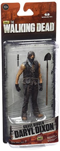 Action Figur The Walking DeadTV 7,5 Grave Digger Daryl Dixon