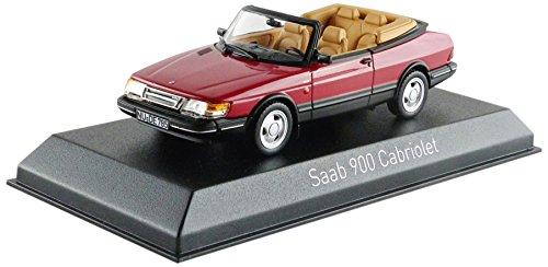 saab-900-turbo-16-cabriolet-rosso-1992-modello-di-automobile-modello-prefabbricato-norev-143-modello