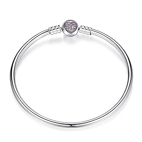 Bracelet Jonc De Base Argent sterling 925 Charms Pandora, bracelets