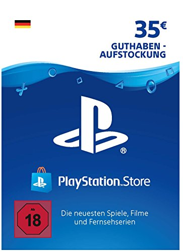 PSN Card-Aufstockung | 35 EUR | PS4, PS3, PS Vita Playstation Network Download Code - deutsches Konto (Ps Vita-ps3)
