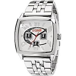 Just Cavalli Herren-Armbanduhr JC SCREEN Analog Quarz Edelstahl R7253625015