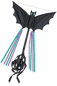Invento 100039-Bat S Niños Dragón einleiner, a Partir de 5años, 30x 60cm Poliéster Ripstop 2-4Beaufort, Negro