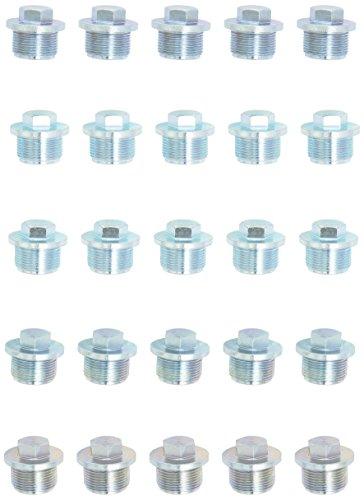 KS tools ölablassschraube extérieur 6 pans 17 mm, taille m 26 x 16 x 1,5 mm (430.2139 lot de 25
