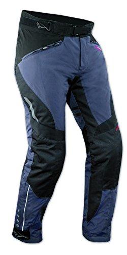 Pantaloni-Impermeabile-Moto-Imbottitura-Termica-Estraibile-Traspirante-Blu-32