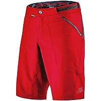 Troy Lee Designs Pantalón Corto MTB Niño Skyline Rojo (28 = 71Cm Niño, Rojo)