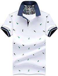 Hombres Clásico Transpirable Camisetas Frescas Trabajo Deportivo Ocio Para Hombre Clásico De Manga Corta Seco Máx