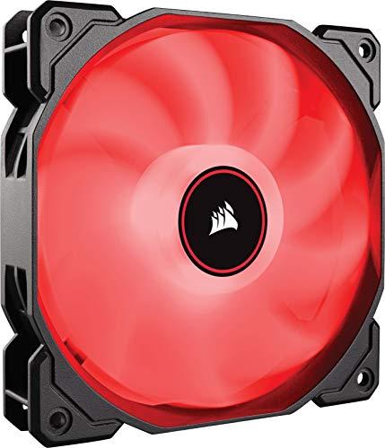Corsair AF120 Air Series LED Geräuscharmer Lüfter (120mm, Einzelverpackung) rot