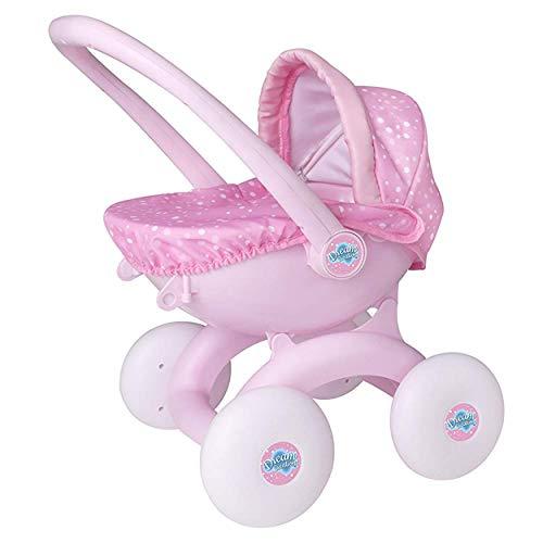 HTI Toys Dream Creations - Cochecito bebé 4 1 niños