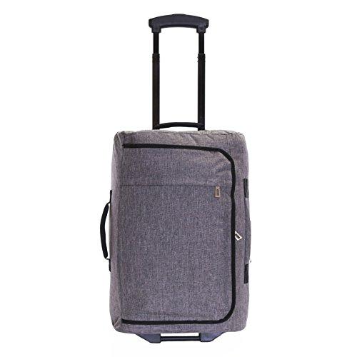 Karabar Brito 55 x 35 x 20 cm bolsa de equipaje de mano con ruedas, Gris