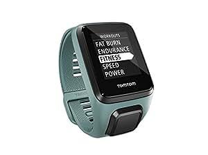 TomTom Spark 3 Cardio + Musik GPS-Fitnessuhr(Routenfunktion, 3GB Speicherplatz für Musik, Eingebauter Herzfrequenzmesser, Multisport-Modus, 24/7 Aktivitäts-Tracking)