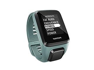 TomTom SPARK 3 Cardio + Music - Montre GPS Multisports - Bracelet Fin - Vert d'Eau (B01HZPJRGK) | Amazon price tracker / tracking, Amazon price history charts, Amazon price watches, Amazon price drop alerts