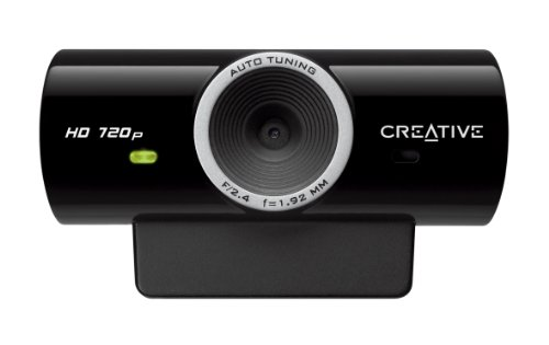 Creative Labs Creative 73VF077000000 Live!Cam Sync HD 720p 1280x720 USB2.0 Webcam