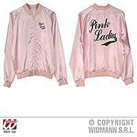 Pink Ladies 50s - Chaqueta para mujer de raso, talla M