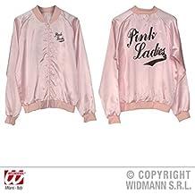 Pink Ladies 50s - Chaqueta para mujer de raso 1bb482bc82bda
