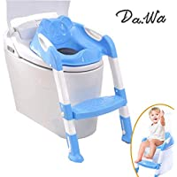 Da. Wa Siège/pot pour bébé avec échelle enfants siège de toilette wc pour enfant chaise Pot Bébé pliante