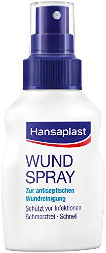 Hansaplast Wundheilspray, Spray, 4er Pack (4 x 50 ml)