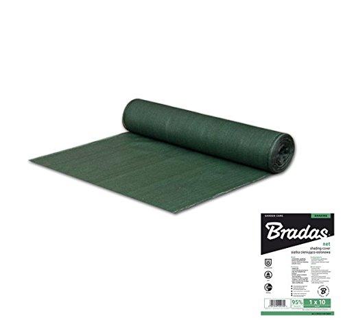 Bradas AS-CO13518050GR Sichtschutz 135 g/m2, 1,80 x 50 m, dunkelgrün, 100 x 40 x 40 cm