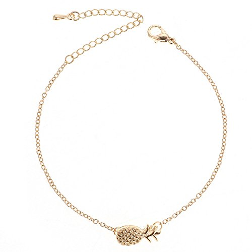 Doitsa 1pcs Armband Mode Damen Frucht Ananas Armband Frauen Exquisite Schmuck Zusätze Legierung Armbänder schönes kleines Geschenk (Für Ananas Erwachsene Kostüme)