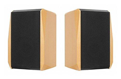 Dynavox TG-1000B - Altavoces HiFi (50 W, 2 unidades), color haya