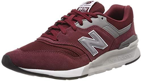 New Balance Herren 997h Core Sneaker, Rot (Classic Burgundy/Silver), 46.5 EU (New Herren Balance Schuhe Rot)