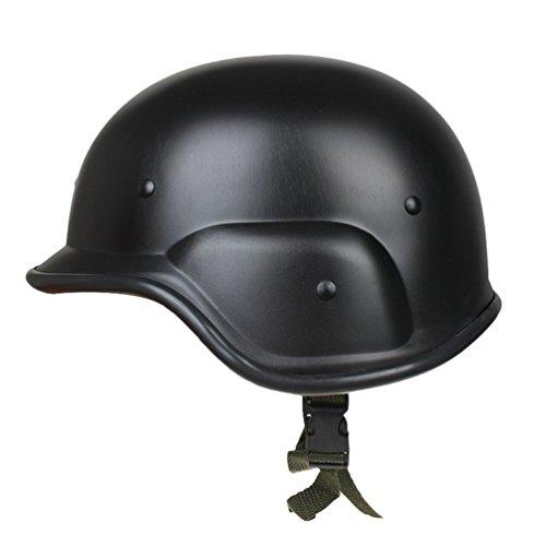 Tookang unisex multiuso abs casco tattico imitazione casco delle forze polizia ed esercito per giochi di guerra tattici