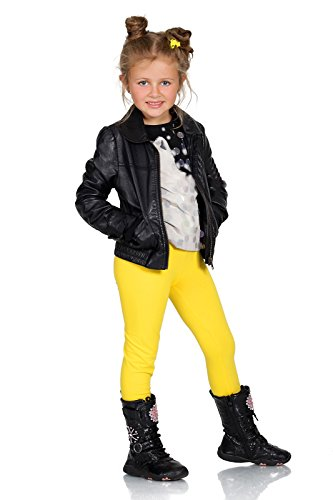 FUTURO FASHION Thick Warm Kids Cotton Leggings Girls Pants Plain Full Length Childrens Trousers Age 2 3 4 5 6 7 8 9 10 11 12 13