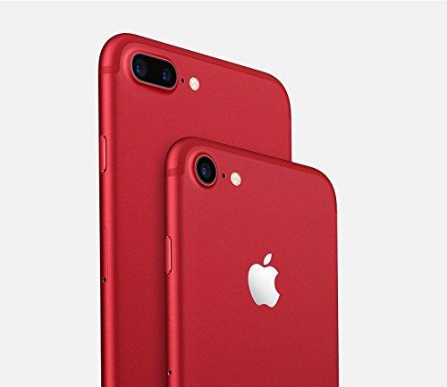 "Apple iPhone 7 Plus 14 cm (5.5"") 3 GB 128 GB SIM única 4G Rojo 2900 mAh - Smartphone (14 cm (5.5""), 3 GB, 128 GB, 12 MP, iOS 10, Rojo)"