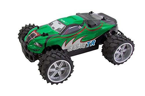 XciteRC 30508100 - Ferngesteuertes RC Auto Eagle Truggy M, 1:16, 2WD RTR Modellauto, grün*