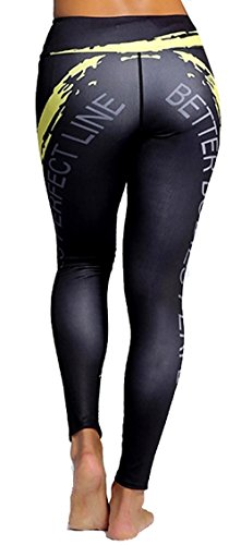 A. M. Sport - Legging de sport - Femme Multicolore multicolore Multicolore