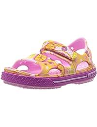 Crocs Crocband Ii Graphic Sandal K Frt, Zuecos Unisex Niños