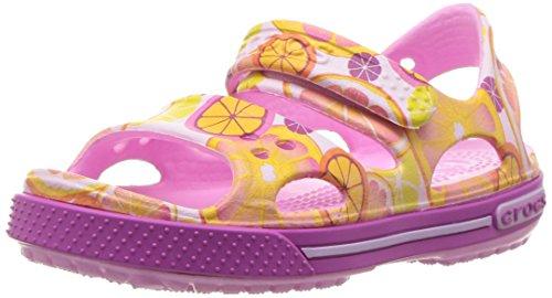 Crocs Crocband Ii Graphic Sandal K Frt, Sabots Mixte Enfant Multicolore (Fruit)